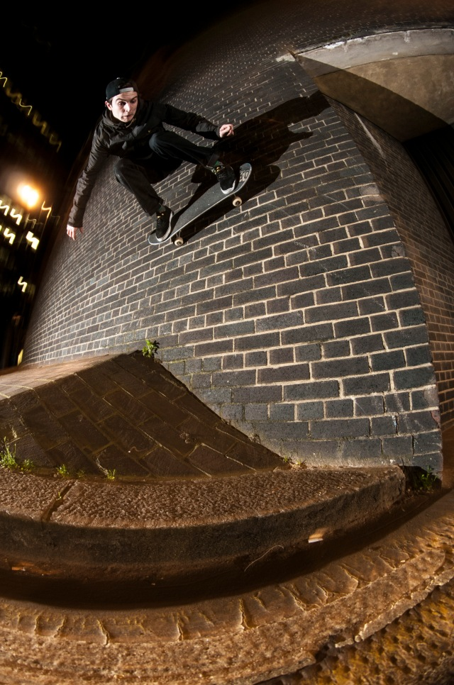 Jonny wallride London - pic by Dodds